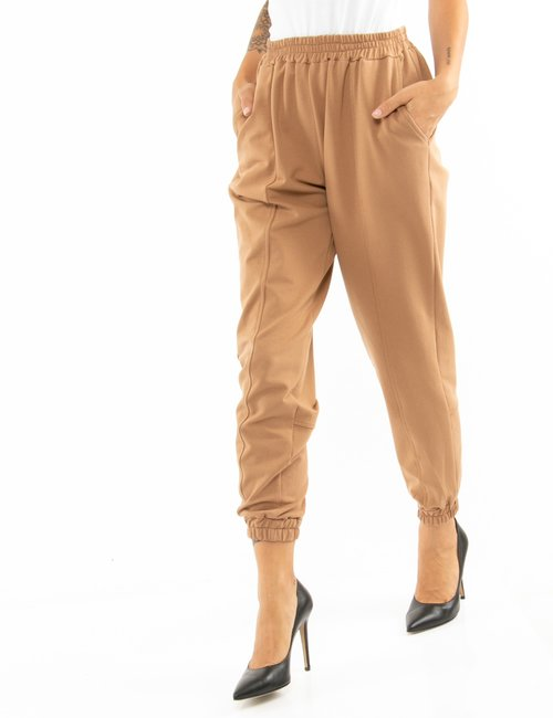 Pantalone Vougue in cotone - Marrone