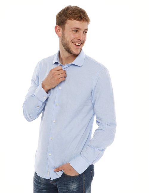 Camicia Yes Zee in cotone - Fantasia