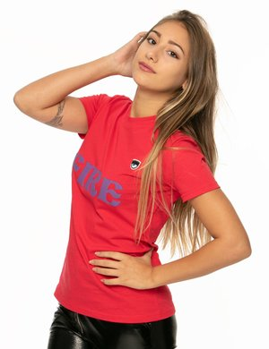 T-shirt Chiara Ferragni con scritta