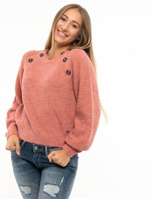 Maglione Pepe Jeans con bottoni - Rosa