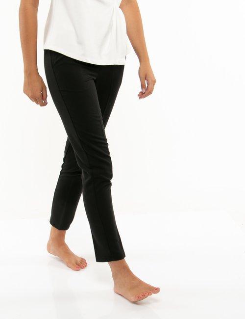Pantalone Vougue con tasche - Nero