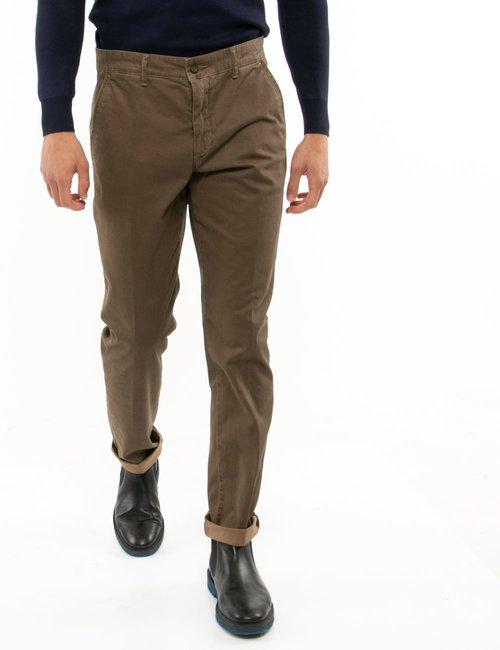 Pantalone Asquani regular fit - Marrone