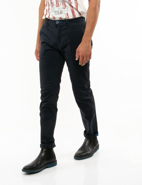 jeans Fred Mello straight fit - Blu