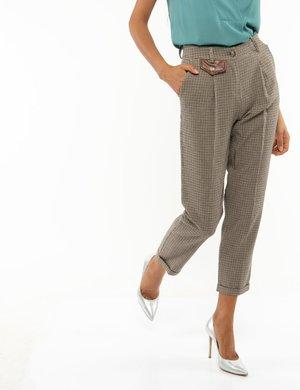Pantalone Fracomina quadrettato