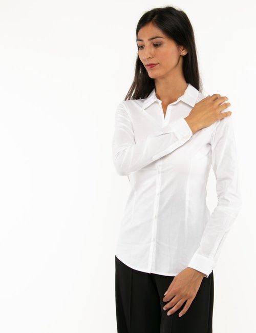Camicia Fracomina a maniche lunghe - Bianco