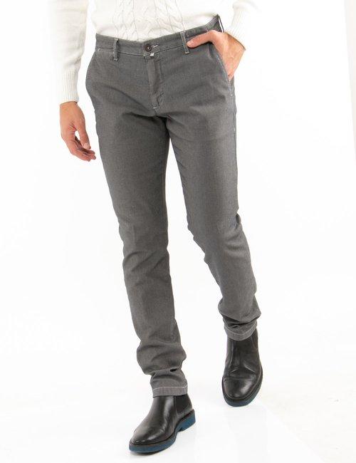 Pantalone Asquani slim fit - Grigio