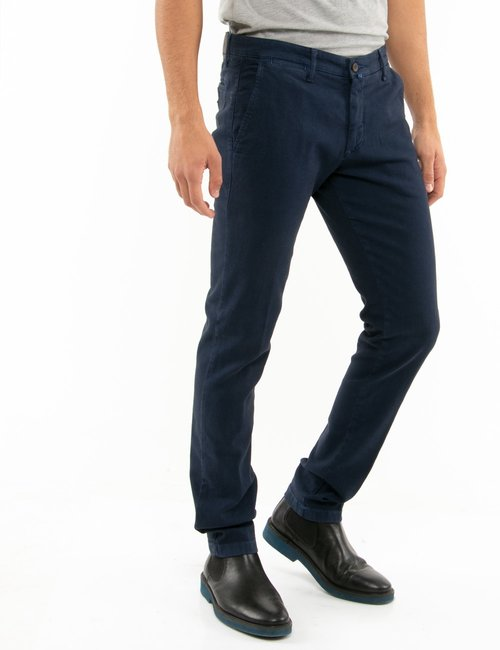 Pantalone Asquani slim fit - Blu