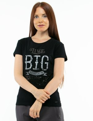 T-shirt Imperfect con ricamo