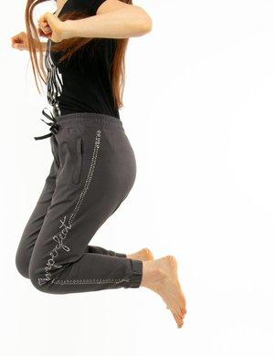 Pantalone Imperfect con strass