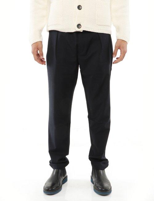 Pantalone Liu Jo tasche con zip - Blu