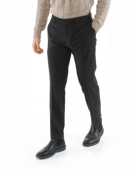 Pantalone Liu Jo con risvolto - Grigio