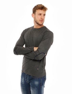 Maglione Yes Zee con cuciture a contrasto