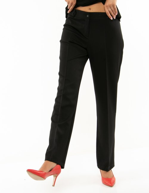Pantalone Vougue regular - Nero