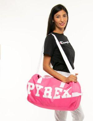 Borsone Pyrex con zip a contrasto