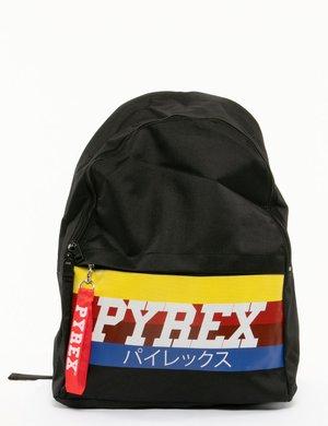 Zaino Pyrex logo rainbow