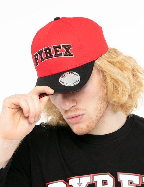 Cappello Pyrex con visiera - Rosso
