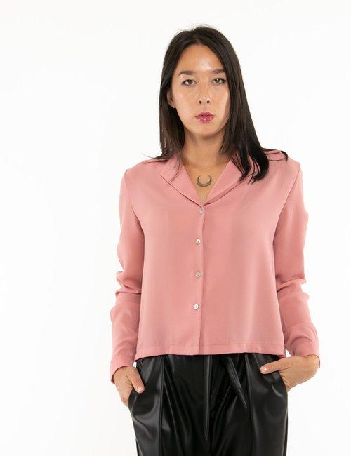 Camicia Vougue a maniche lunghe - Rosa