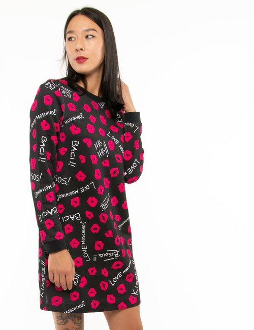 Vestito Love Moschino in cotone - Nero