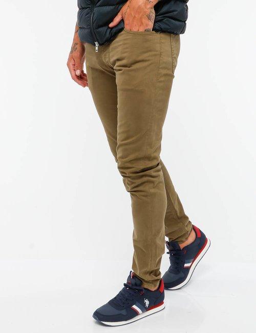 Pantalone Gant cinque tasche - Verde