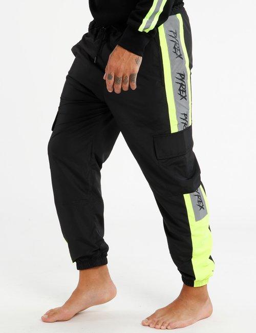 Pantalone Pyrex con tasconi - Nero
