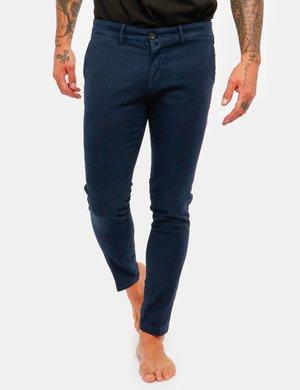 Pantalone Asquani con bottone interno