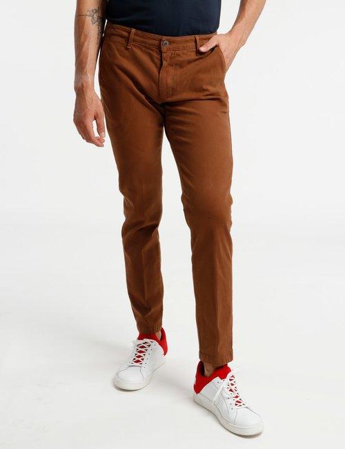 Pantalone Concept83 in cotone - Marrone