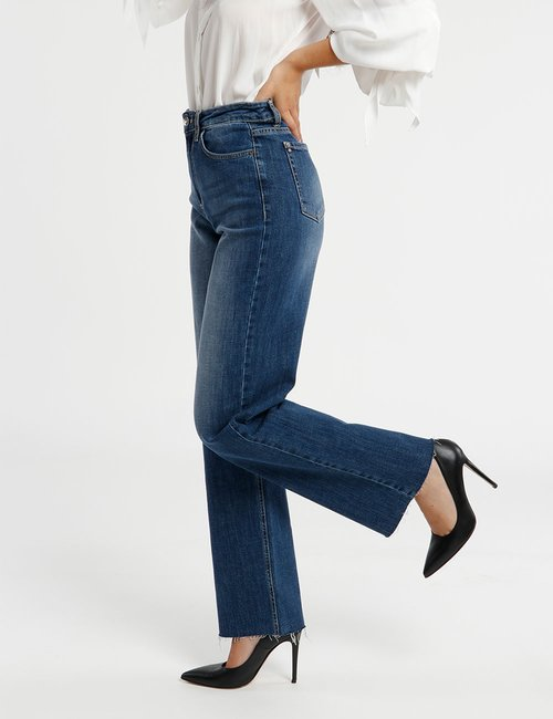 Jeans Fracomina con orlo al vivo - Jeans