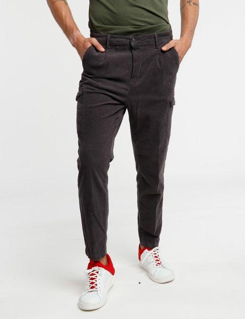 Pantalone Concept83 a coste - Grigio