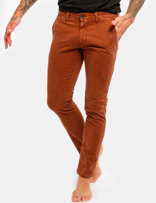 Pantalone Asquani con tasche - Marrone