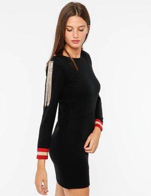 Maglione Imperfect con decorazione