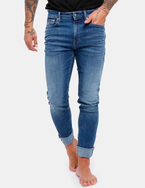 Jeans Calvin Klein con monogramma ricamato - Jeans