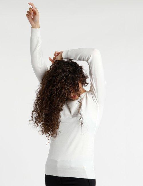 Maglia Yes Zee elasticizzata - Bianco