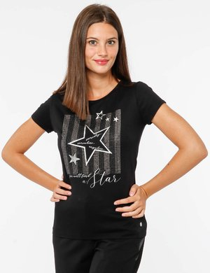 T-shirt Maison Espin con borchie
