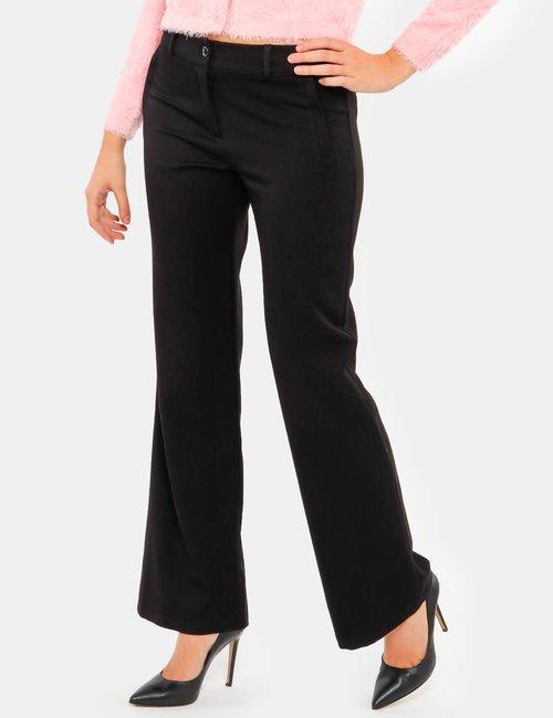 Pantalone Vougue con tasche finte - Nero