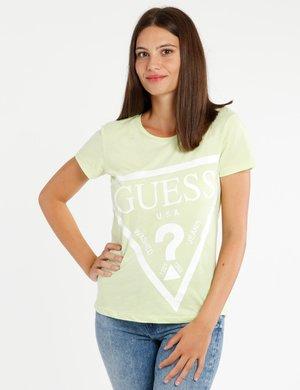 T-shirt Guess con maxi logo stampato