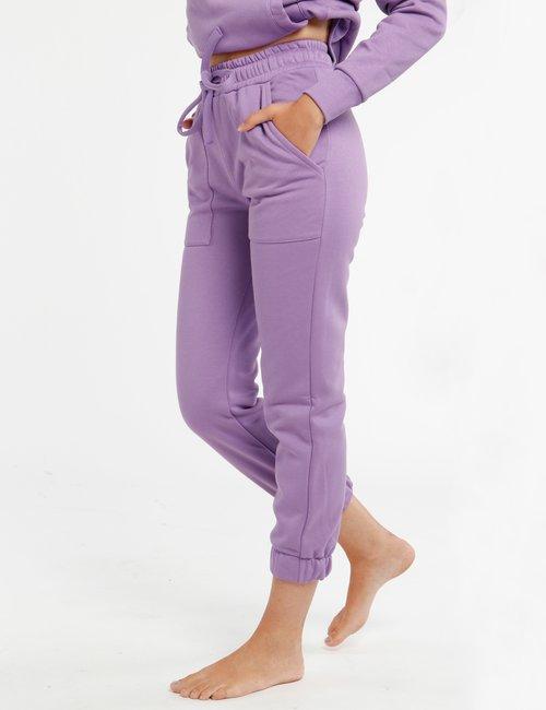 Pantalone Concept83 con tasche - Viola