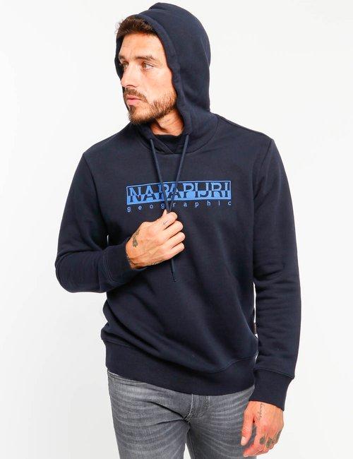 Felpa Napapijri con cappuccio - Blu