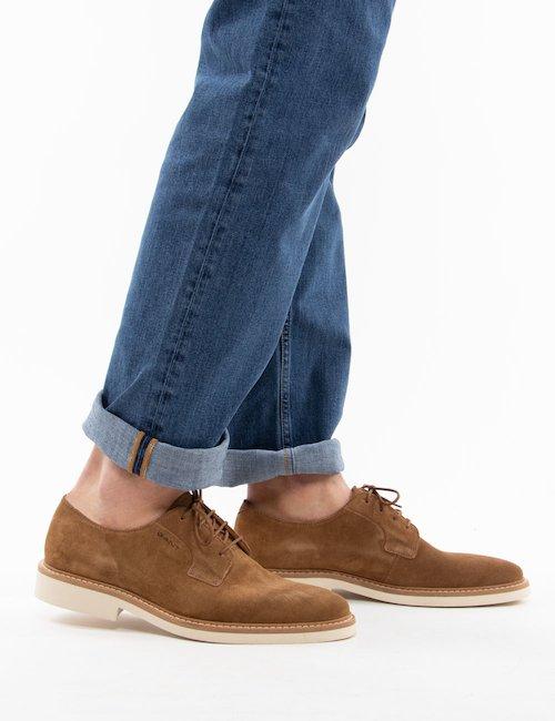 Scarpa Gant in pelle scamosciata - Brown