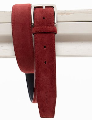 Cintura Gant in pelle scamosciata