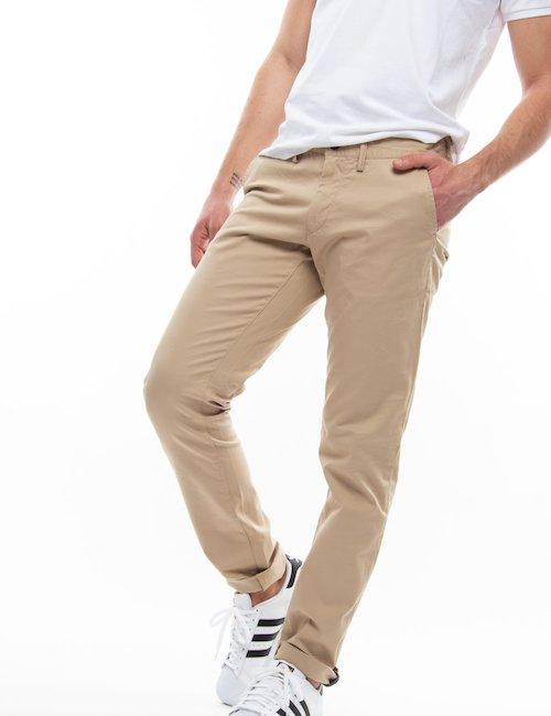 Pantalone Gant in cotone organico - Beige