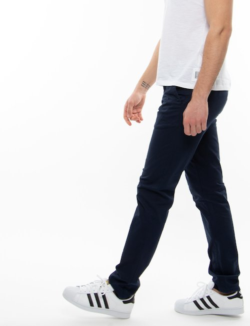 Pantalone Gant in cotone organico - Blu
