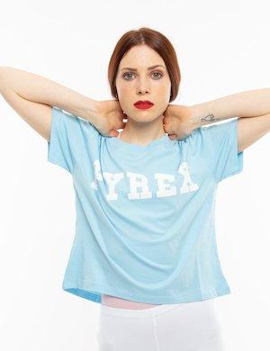 T-shirt Pyrex con logo maxi