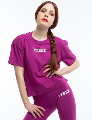 T-shirt Pyrex con logo