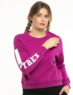 Felpa Pyrex con logo sulle maniche