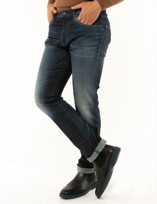 Jeans Armani Jeans cinque tasche - Blu