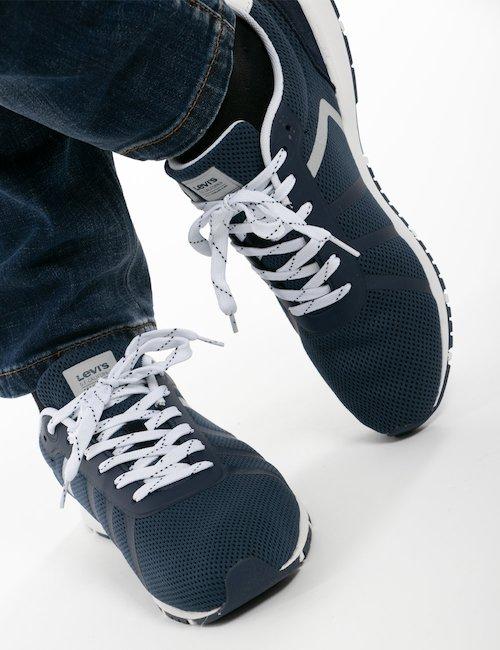 Sneakers Levi's stringate - Blu