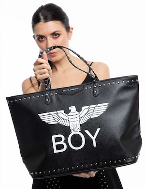 Borsa  Boy London con borchie