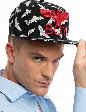 Cappello Boy London stampato
