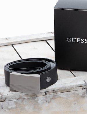 Cintura Guess in cuoio con logo