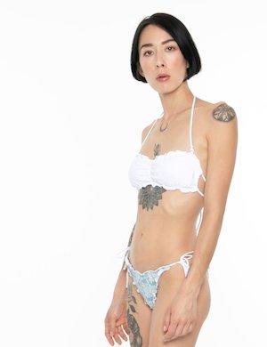 Costume F**K bikini denim chiaro